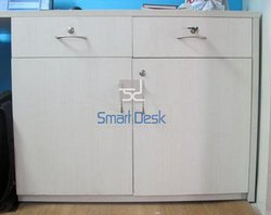 Smart Desk White Drawer Cabinet