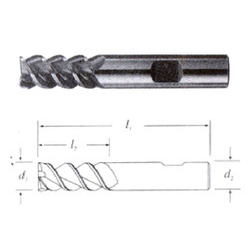 Solid Carbide Hi- Helix End Mill