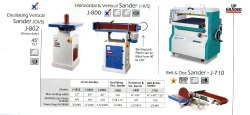 Horizontal & Vertical Sander
