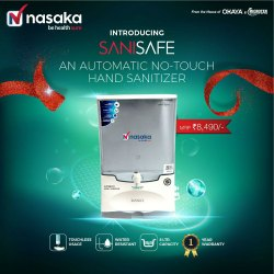 Automatic No. Touch Hand Sanitizer Machine