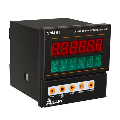 EAPL SNM-01-DC Multifunction Meter with 3 Channel