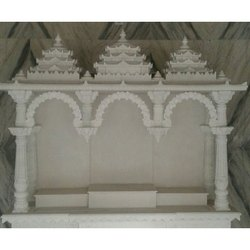 White Marble Pooja Temple