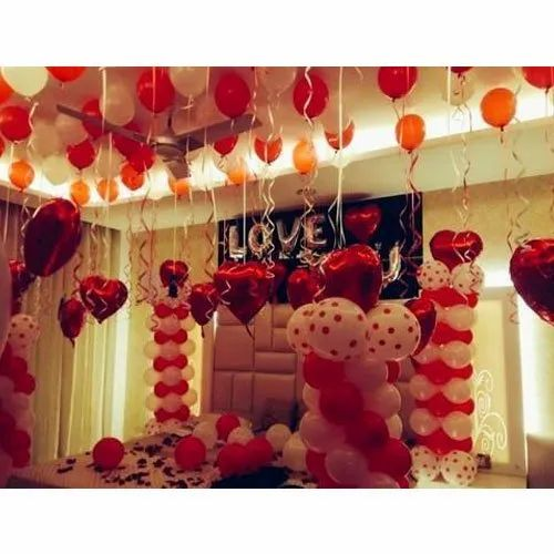Balloon And Ribbon Decoration Services