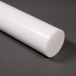 Essar White Polypropylene Rod, Size: 12mm To 100mm