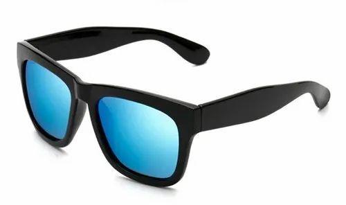99088f2fbf Male Whifayr Black Blue Wayfarer Blue Mercury Sun Goggles
