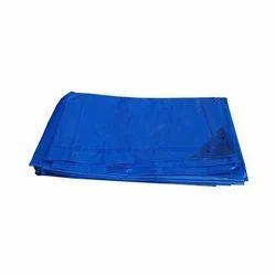蓝色塑料篷布