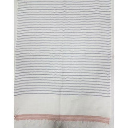 Cotton Linen Stripe Stoles