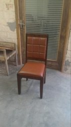 Restaurant Wooden Cushion Chair