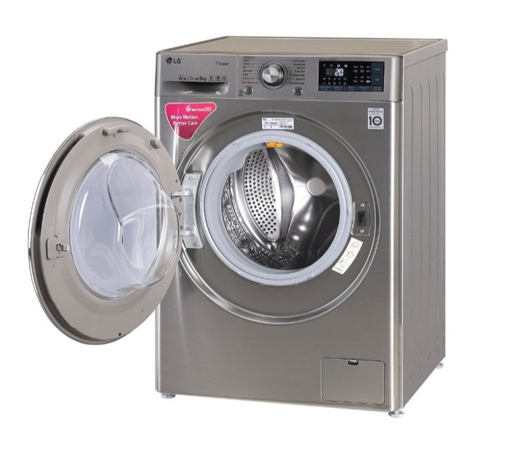 LG 8 kg Fully Automatic Front Load Washing Machine, FHT1408SWS, STS-VCM,  specification and features