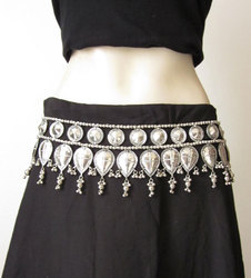 India Stop Tribal Style Belly Dance Belt