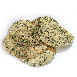Curry Leaves Poppadom