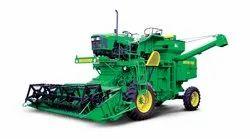 Multi Crop Tractor Driven Combine Harvester