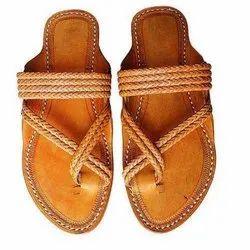Leather Plain Footwear, Size: 7