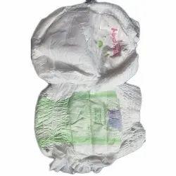White Plain Pant Diaper