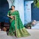 Weaving Work Designer Saree