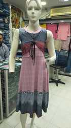 Ladies Designer Short Gown