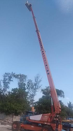 120 FT Telescopic Boom Lift, Capacity: <10 Tons | ID: 20042463712