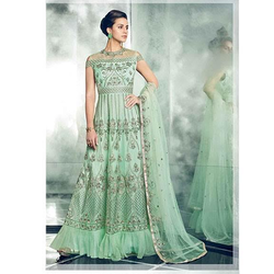 Ladies Designer Embroidered Suit