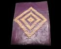 Zig-Zag Designer Handmade Leather Journal