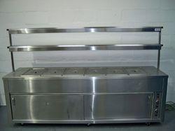 Mirror/matt Stainless Steel Bain Marie for Hotels