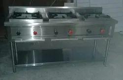 KIC 3 Three Burner Range, For Commercial