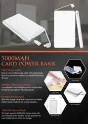 5000mah Card Power Bank - Giftana