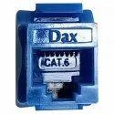 Blue Dax Cat 6 Module