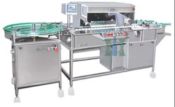 Visual Vial Inspection Machine For Dry Powder Vials