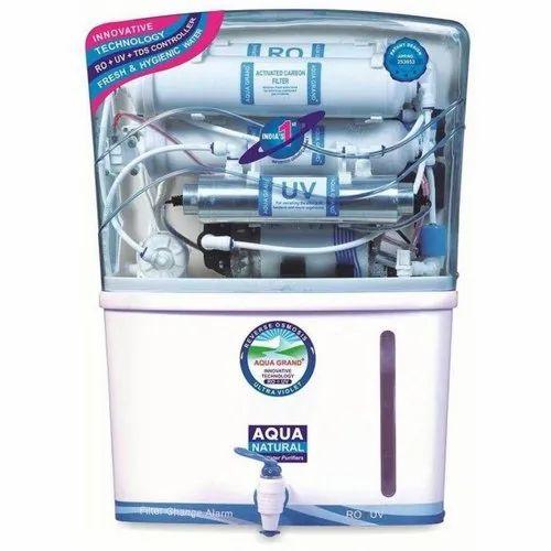 Aqua Grand RO UV UF Water Purifier, Capacity: 7.1 to 14L