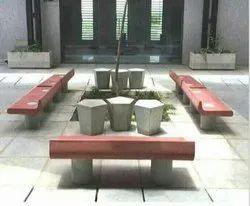 Designer Concrete Benches
