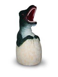 Attractive Dino Shape Dustbin