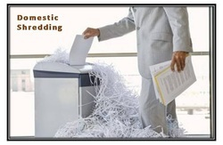 Domestic Shredding