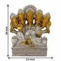 Lord Ganesha in Golden Look