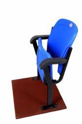 Auditorium Plastic Folding  Chairs