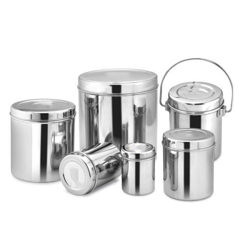 Kitchen Storage Container Set SS Container Stainless Steel Ka