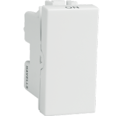 White Havells 25 AX 1Way Switch, 240 V