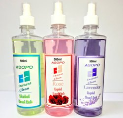 Asopo Alcohol Based Hand Sanitizers 500 Ml