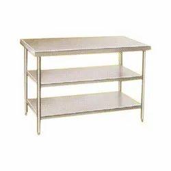Stainless Steel Rectangular Commercial Work Table