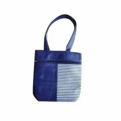 Pu Leather(Outer) Office Ladies Hand Bag, 200-400 G