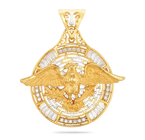 Eagle gold pendant at rs 80874 piece gold pendant id 16013132512 eagle gold pendant aloadofball Images