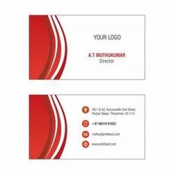 Paper Business Cards Printing Service, in Alwar