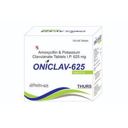 Thurs Amoxycillin and Potassium Clavulanate Tablet IP, Packaging Type: Strip