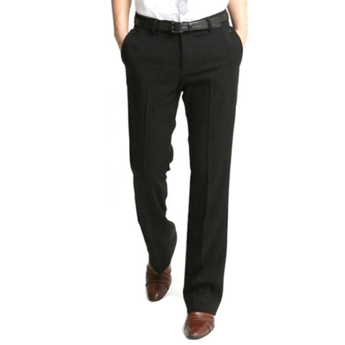 4ac8421ea 28-42 Inch Cotton Men Black Pant