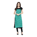Medium Cotton Printed Georgette Ladies Kurti