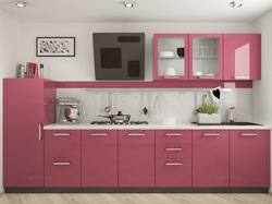 Residential MDF Modular Kitchen, Warranty: 5 Years