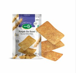 Punjab Da Swad Wheat Thins (Khakhra), Packaging Type: Vacuum Pack