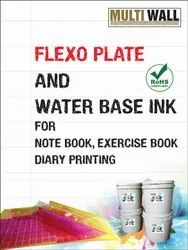 Flexo Water Based Ink for Notebook