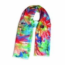 Silk Stole Sublimation Printing Service, Client Side