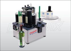 Semi Automatic Tabletop Round Bottle Labeling