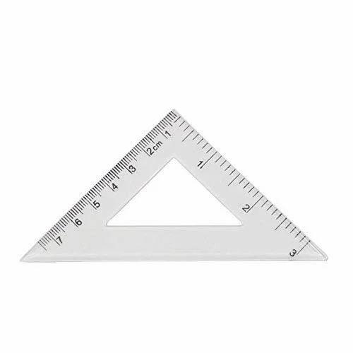 Plastic Set Square Triangle